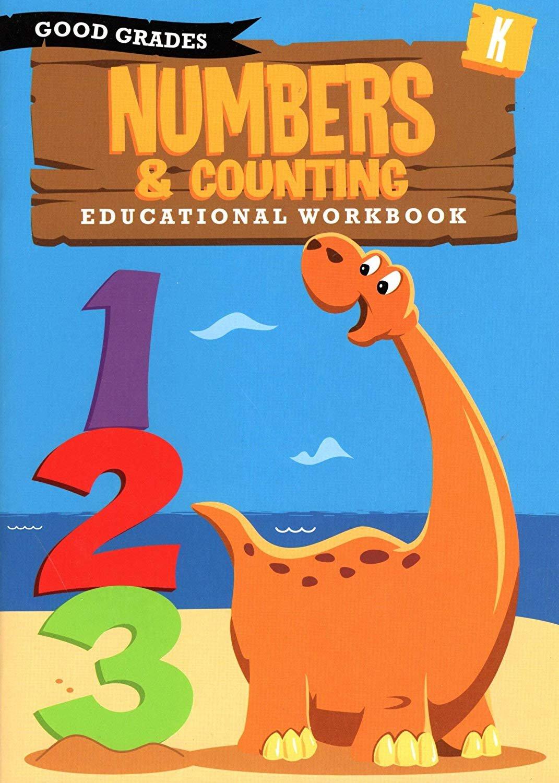 Good Grades Kindergarten Educational Workbooks Numbers & Counting - v3