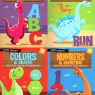 Good Grades Kindergarten Educational Workbooks - Set of 4 Books - v4
