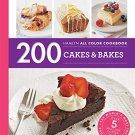 200 Cakes & Bakes (Hamlyn All Color)