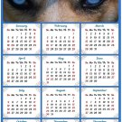 2020 Magnetic Calendar - Calendar Magnets - Today is My Lucky Day - Dog Themed 3