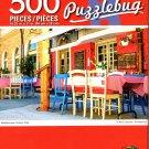 Mediterranean Outdoor Cafe - 500 Pieces Jigsaw Puzzle