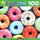 Colorful Sprinkle Donuts - 100 Piece Jigsaw Puzzle
