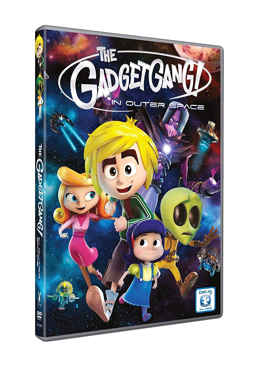 Gadgetgang in Outer Space (DVD) dv 003
