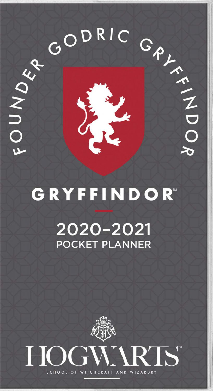 Harry Potter 2020 Pocket Planner (Hogwarts School of Witchcraft and Wizards)