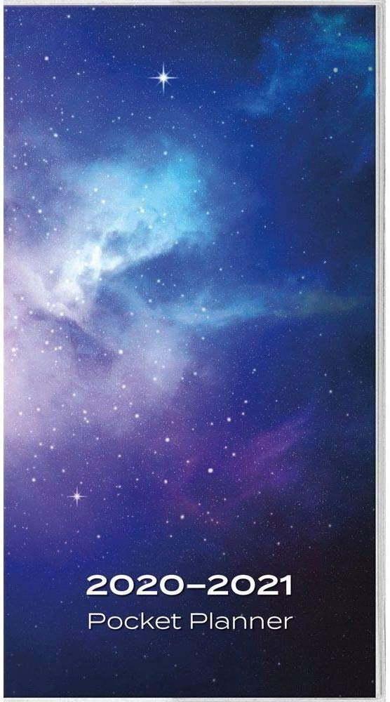 Calendars Galaxy Pocket Planner with Extra �Notes� Pages Full Color Pages - Easy to Glance