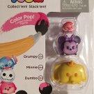 Color Pop! Tsum Tsum 3-Pack Figures: Grumpy/Minnie/Dumbo