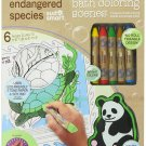 Endangered Species by Sud Smart Bath Coloring Scenes Set