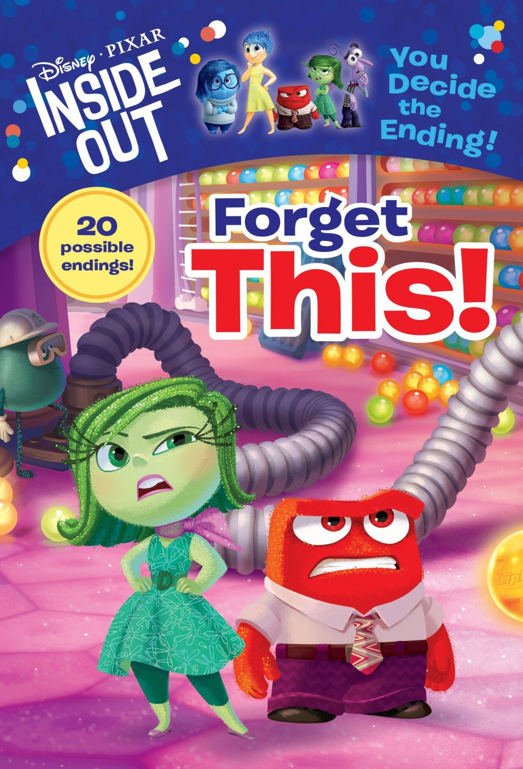 Forget This! (Disney/Pixar Inside Out) (A Stepping Stone Book(TM))