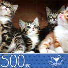 Little Kittens in a Box - 500 Piece Jigsaw Puzzle