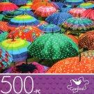 Colorful Umbrellas - 500 Piece Jigsaw Puzzle