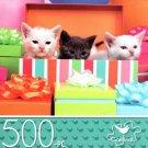 Birthday Kittens - 500 Piece Jigsaw Puzzle