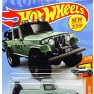 Hot Wheels 2019 Hw Hot Trucks 2/10: '67 Jeepster Commando (Green)