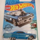 Hot Wheels 2020 Tooned '64 Chevy Impala, Blue 58/250