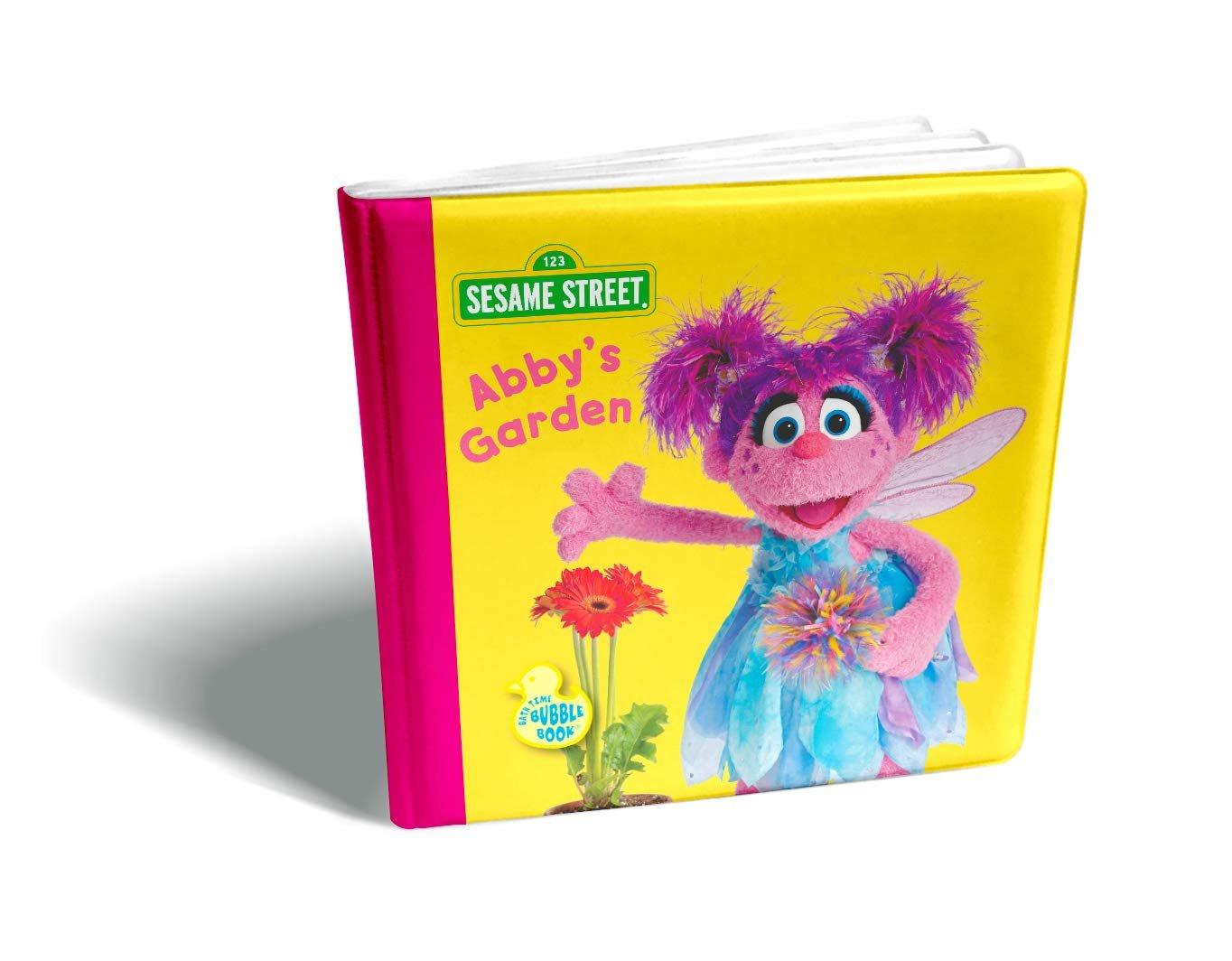 Sesame Street Bath Time Bubble Book-Abby's Garden