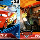 Disney Pixar Cars - 24 Pieces Jigsaw Puzzle - (Set of 2)
