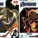Marvel Avengers  Endgame - 48 Pieces Jigsaw Puzzle - (Set of 2) v1