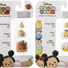 "Tsum Series 3 Miss Bunny, Happy & Bullseye 1"" and Tinker Bell, Alice & Ugly Duckling 1"" (Set of 2)"