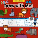 Flying Frog Wild Animals 1-2-3 Draw with Me!