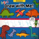 Flying Frog Dinosaurs 1-2-3 Draw with Me!
