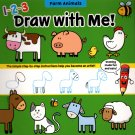 Flying Frog Farm Animals 1-2-3 Draw with Me!