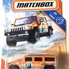 Matchbox Hummer H2 SUV Concept Orange Marine Rescue MBX Costal 89/100