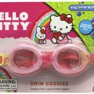 Swim Goggles Dual-Shade Pink Colored Hello Kitty Kids