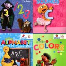 Sesame Street Workbooks Preschool (Set of 4 Workbooks)