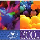 Color Explosion 1 &  Balloons - 300 Piece Jigsaw Puzzle - p014 (Set of 2)
