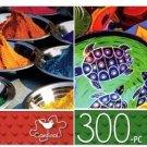 Tikka Powders & Mexican Pottery - 300 Piece Jigsaw Puzzle - p014 (Set of 2)
