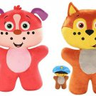 People Pet Heroes 492DTV Puppet Plush, Color (Set of 2)