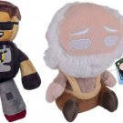 "Tube Heroes Sky Plush, 8"" H x 8"" W & Funko Mopeez: Walking Dead - Hershel Action Figure (Set of 2)"