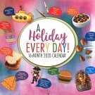 "2020""A Holiday Every Day"" Full-Size Wall Calendar"