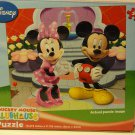 Disney Mickey Mouse Clubhouse 24-Piece Jigsaw Puzzle (Mickey and Minnie by the Fountain)