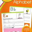 Crayola - Alphabet - Pre K-K Preschool Learning Educational Activity Workbook