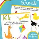 Crayola - Beginning Sound - Pre K-K Preschool Learning Educational Activity Workbook