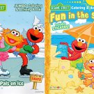 Sesame Street - Fun in The Sun & Christmas Holiday Coloring and Activity Book (Set of 2)