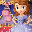 Sofia the First Sticker Scene Plus Book to Color, A Lovable Princess (60 tickers & 3 Play Scenes)