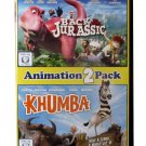 Back To The Jurassic / Khumba - Both Full Feature Animated Movies