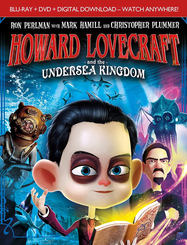 Howard Lovecraft And The Undersea Kingdom (Bluray/DVD Combo) [Blu-ray] (DVD) dv003