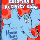 Dr. Seuss Coloring & Activity Book - Horton Hears a Who!