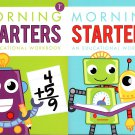 First Grade & Second Grade - Morning Starters Educational Workbooks - Set of 2 Books