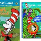 Cartoon collection - Cat in the Hat DVD - (SET of 2)