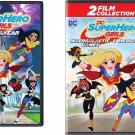 Cartoon collection - DC Super Hero Girls: (DVD) - (Set of 2) dv004