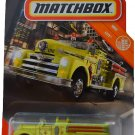 Matchbox City Seagrave Fire Engine 26/100, neon Green