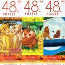 The Lion King - 48 Pieces Jigsaw Puzzle (Set of 3)