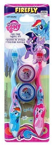 Dollaritem 361450 Wholesale My Little Pony Toothbrush 4Pk Travel Kit X
