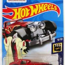 Hot Wheels 2018 50th Anniversary HW Screen Time Disney's 101 Dalmations Cruella De Vil 343/365, Red