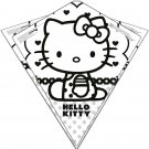Color Me Kite 26-inches Tyvek Diamond Kite: Hello Kitty