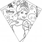 X Kites Princess Color-Me-Kite - 26 Inches Tall by Disney