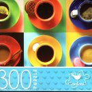 Colorful Coffee Cups - 300 Piece Jigsaw Puzzle
